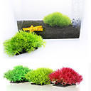 رخيصةأون زينة حوض السمك-حوض سمك ديكور حوض السمك نبات مائي أصفر اصطناعي بلاستيك 1 قطعة 12*7 cm