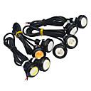 voordelige Autobinnenverlichting-JIAWEN 2pcs Automatisch Lampen 3W COB LED Exterieur Lights / Achterlicht / Dagrijverlichting