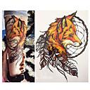 رخيصةأون وشم مؤقت-1 pcs ملصقات الوشم الوشم المؤقت سلسلة الرسوم المتحركة ضد الماء الفنون الجسم ذراع