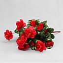 ieftine Gadget Baie-Flori artificiale 1 ramură Stil modern Azalee Față de masă flori