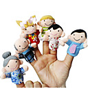 cheap Puppets-Finger Puppets Novelty Textile Cotton 6 pcs Toy Gift
