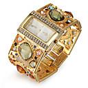 povoljno Muški satovi-Žene Luxury Watches Narukvica Pogledajte Diamond Watch Japanski Kvarc Zlatna imitacija Diamond Analog dame Luksuz Svjetlucavo Moda Elegantno - Zlato Crn Jedna godina Baterija Život / SSUO SR626SW
