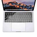 ieftine Ecrane Protecție Tabletă-xskn® acopere tastatura ultra-subțire pentru MacBook Pro 13 15 cu bara de atingere (a1706 / a1707) clar piele tastatură laptop TPU film de