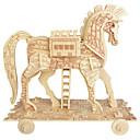 رخيصةأون 3D الألغاز-تركيب خشبي حصان المستوى المهني خشبي 1 pcs صبيان هدية