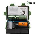 ieftine lanterne-U'King Lanterne LED Zoomable 2000 lm LED LED emițători 5 Mod Zbor Cu Baterie și Încărcător Zoomable Focalizare Ajustabilă Camping / Cățărare / Speologie Utilizare Zilnică Multifuncțional Priză EU