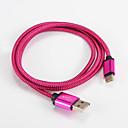 halpa Galaxy A -sarjan kotelot / kuoret-USB 2.0 / C-tyypin Kaapeli <1m / 3ft Kannettava Alumiini USB-kaapelisovitin Käyttötarkoitus Samsung / Huawei / LG