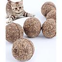 رخيصةأون لعب-ألعاب تسلية القطط قط قطة صغيرة حيوانات أليفة ألعاب قطعتين مضاعف خشب هدية