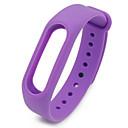 رخيصةأون Smartwatch كابلات وشواحن-حزام إلى Mi Band 2 Xiaomi عصابة الرياضة سيليكون شريط المعصم