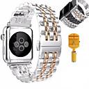 ieftine Carabiniere-Uita-Band pentru Apple Watch Series 5/4/3/2/1 Apple Butterfly Cataramă Oțel inoxidabil Curea de Încheietură