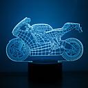 ieftine Ustensile & Gadget-uri de Copt-1 piesă 3D Nightlight USD Rezistent la apă / Senzor / Intensitate Luminoasă Reglabilă LED / Modern contemporan