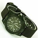 رخيصةأون ساعات الرجال-للرجال ساعات فاشن كوارتز القماش فرقة عادية أسود أزرق أخضر