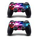 ieftine Accesorii PS4-b-stick autocolant colorat pentru ps4