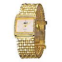 ieftine Moda Lolita-ASJ Pentru femei femei Ceasuri de lux Ceas Brățară ceas de aur Japoneză Auriu imitație de diamant Analog Lux Sclipici Modă Elegant - Alb Negru