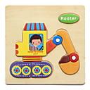 povoljno Maske/futrole za Galaxy S seriju-Poučna kartica Puzzle Drvene puzzle Puzzle s klinom Poučna igračka Životinje Uradi sam Zabava Klasik Crtići Dječji Poklon