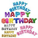 povoljno Ukras za zabavu-13pcs / set 16inch sretan rođendan pismo slova baloni više boja folija baloni stranke