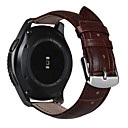 Недорогие Защитные пленки для Samsung-Ремешок для часов для Gear S3 Frontier / Gear S3 Classic Samsung Galaxy Классическая застежка Кожа Повязка на запястье