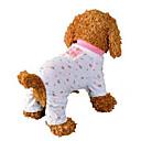 رخيصةأون ملابس وإكسسوارات الكلاب-كلب حللا منامة ملابس الكلاب متنفس زهري كوستيوم قطن فاكهة كاجوال / يومي XS S M L XL
