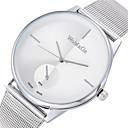 ieftine Ceasuri Damă-Pentru femei Ceas de Mână Quartz Argint Ceas Casual Analog Modă minimalist - Maro Rosu Albastru Un an Durată de Viaţă Baterie / SSUO 377