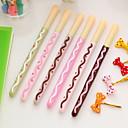 ieftine Cabluri de Adaptor AC & Curent-gel Pen Stilou Pixuri cu Gel Stilou, Plastic Negru Culori de cerneală Pentru Rechizite școlare Papetărie Pachet de