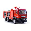 رخيصةأون قلادات-01:50 بلاستيك سيارة الإطفاء لعبة الشاحنات ومركبات البناء لعبة سيارات للأطفال ألعاب السيارات / الموسيقى والضوء