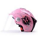 رخيصةأون خوذات الدراجات النارية-YEMA 310 وجه مفتوح بالغين للجنسين دراجة نارية خوذة ضد UV / متنفس