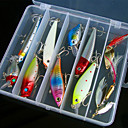 رخيصةأون وسائد-1 pcs خدع الصيد عامود الساعد الغرق Bass سمك السلمون المرقط رمح الصيد العام بلاستيك
