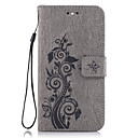 Case Huawei P9 Lite / Huawei Honor 5C / Huawei G8 Wallet / Card Holder / Stand Full Body Cases Flower Hard PU Leather Huawei P9 Lite / Huawei P8 Lite / Honor 8
