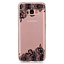 voordelige Galaxy Ace 4 Hoesjes / covers-hoesje Voor Samsung Galaxy S8 Plus / S8 / S5 Mini Transparant / Patroon Achterkant Lace Printing Zacht TPU