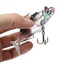 رخيصةأون أدوات & أجهزة المطبخ-2 pcs خدع الصيد Shad الغرق Bass سمك السلمون المرقط رمح طعم الاسماك إغراء الصيد السيليكون