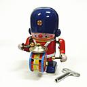 رخيصةأون ألعابالربط-إنسان آلي لعبة الريح آلة إنسان آلي مجموعة طبول المعدنية الحديد عتيق 1 pcs قطع للأطفال للبالغين للصبيان للفتيات ألعاب هدية