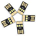 رخيصةأون أدوات الفرن-YWXLIGHT® 5 قطع الصمام ليلة الخفيفة USB قياس صغير الحديث المعاصر