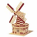 رخيصةأون 3D الألغاز-قطع تركيب3D النماذج الخشبية بناء مشهور الزراعة الصينية لهو خشب كلاسيكي للأطفال للجنسين ألعاب هدية