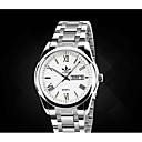 ieftine Ceasuri Bărbați-Bărbați Ceas La Modă Quartz Aliaj Bandă Argint