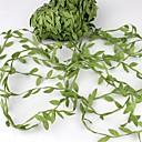 povoljno LED svjetla u traci-20meter svilenih listova u obliku umjetnog zelenog lišća za vjenčanje ukras DIY vijenac dar scrapbooking obrt lažni cvijet
