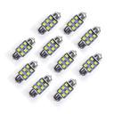 ราคาถูก ไฟภายในรถยนต์-10pcs Festoon รถยนต์ Light Bulbs SMD LED 35 lm LED ไฟภายนอก
