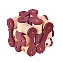 ieftine Imbracaminte & Accesorii Căței-Puzzle Lemn Jocuri IQ Luban de blocare Test de inteligenta De lemn Unisex Jucarii Cadou