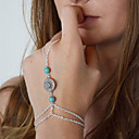 ieftine Ring Bracelets-Pentru femei Ring Bracelets femei European Aliaj Bijuterii brățară Argintiu Pentru Zilnic Casual Costume Cosplay