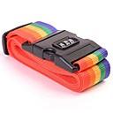 ieftine Depozitare Baie & Uscător-curea de bagaje încrucișată curea de ambalare reglabil valiza de călătorie nailon parola de blocare cataramă curele bagaje curea