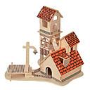 povoljno 3D zagonetke-3D puzzle Poznata zgrada Kineska arhitektura Zabava Drvo Klasik Dječji Uniseks Igračke za kućne ljubimce Poklon