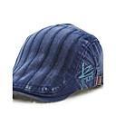 رخيصةأون قبعات الرجال-البيج رمادي أخضر داكن قبعة قلنسوة لون سادة رجالي قطن,عتيق