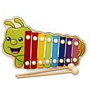 povoljno Zaštitne folije za Huawei-Ksilofon Glazbena igračka Glazbeni instrumenti Zabava drven Dječji Uniseks Dječaci Igračke za kućne ljubimce Poklon