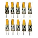 ieftine USB-uri-1.5W G4 Becuri LED Bi-pin T 1 LED-uri COB Decorativ Alb Cald Alb Rece 250lm 2700-3500/6000-6500