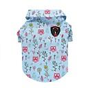 tanie Etui / Pokrowce do Nokii-Kot Psy T-shirt Kamizelka Ubrania dla psów Niebieski Kostium Bawełna Zwierzę Codzienne Moda XS S M L XL