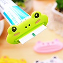 povoljno Gadgeti za kupaonicu-1pcs životinjski lak raspršivač paste za zube plastični umetak za čišćenje zubnih pasta korisni držač zubne paste za kućno kupatilo