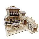 رخيصةأون 3D الألغاز-بانوراما الألغاز قطع تركيب3D اللبنات DIY اللعب ألعاب خشب ألعاب البناء و التركيب
