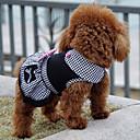 ieftine Becuri LED Lumânare-Câine Rochii Iarnă Îmbrăcăminte Câini Negru Costume Bumbac Prințesă Clasic Gril pe Kamado Nuntă S M L