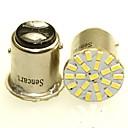 ieftine Becuri De Mașină LED-SENCART BA15S(1156) / BA15D(1142) / BAY15D(1178) Motocicletă / Mașină Becuri 1-2W SMD 3014 120-180lm coada de lumină