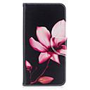 رخيصةأون أغطية أيفون-غطاء من أجل iPhone 7 / iPhone 7 Plus / iPhone 6s Plus محفظة / حامل البطاقات / مع حامل غطاء كامل للجسم زهور قاسي جلد PU إلى iPhone SE / 5s