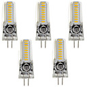 povoljno Šminka i njega noktiju-5pcs 3 W LED svjetla s dvije iglice 220 lm G4 GY6.35 T 18 LED zrnca SMD 3014 Toplo bijelo Hladno bijelo 12 V / 5 kom. / RoHs