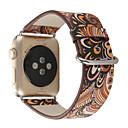 tanie Opaski do Apple Watch-Watch Band na Apple Watch Series 5/4/3/2/1 Jabłko Klasyczna klamra Prawdziwa skóra Opaska na nadgarstek
